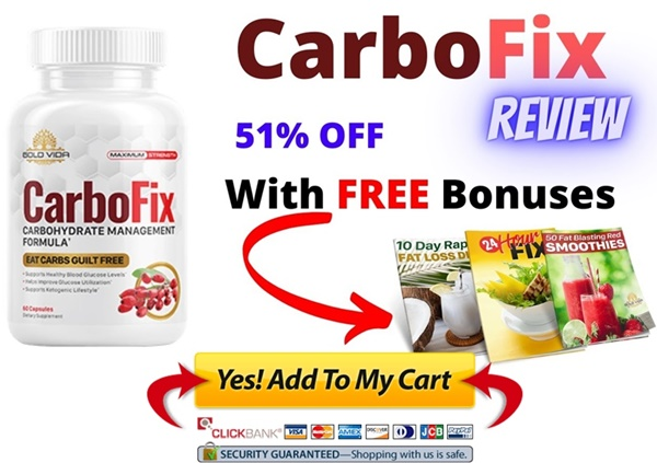 carbofix supplement - free bonus and discount